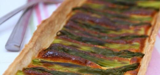 Quiche aux asperges vertes