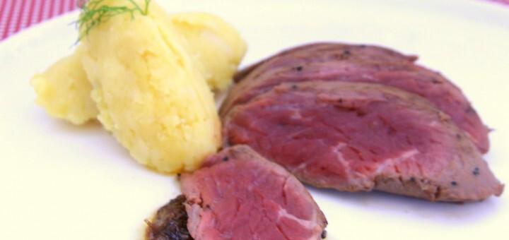 Steak aux échalotes caramélisées