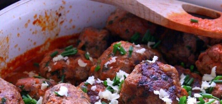 Cheddar meatballs