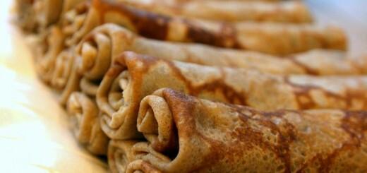 Crêpes à la farine de châtaignes