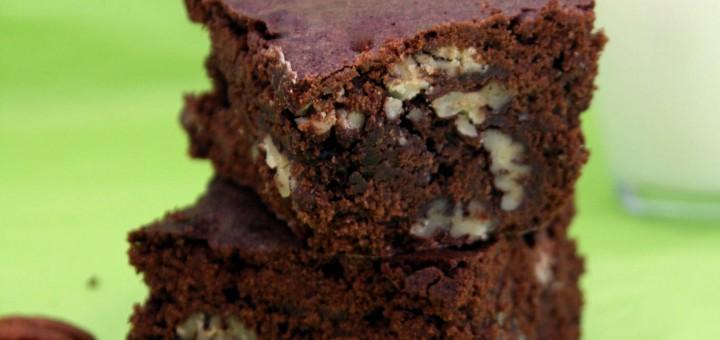 Brownie gourmand aux noix de pécan