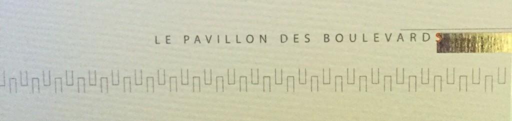 Le Pavillon des Boulevards