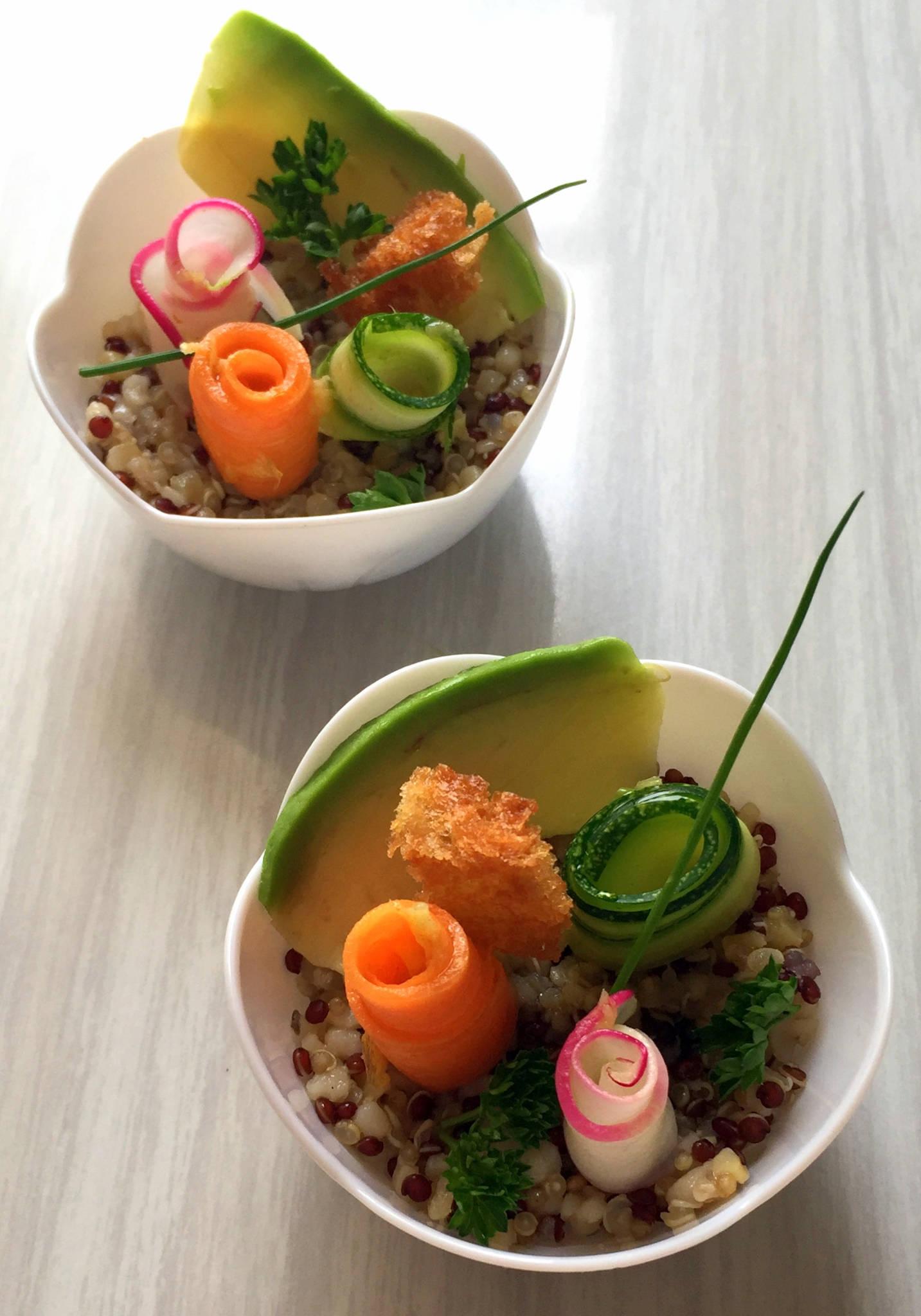 Petit jardin de quinoa