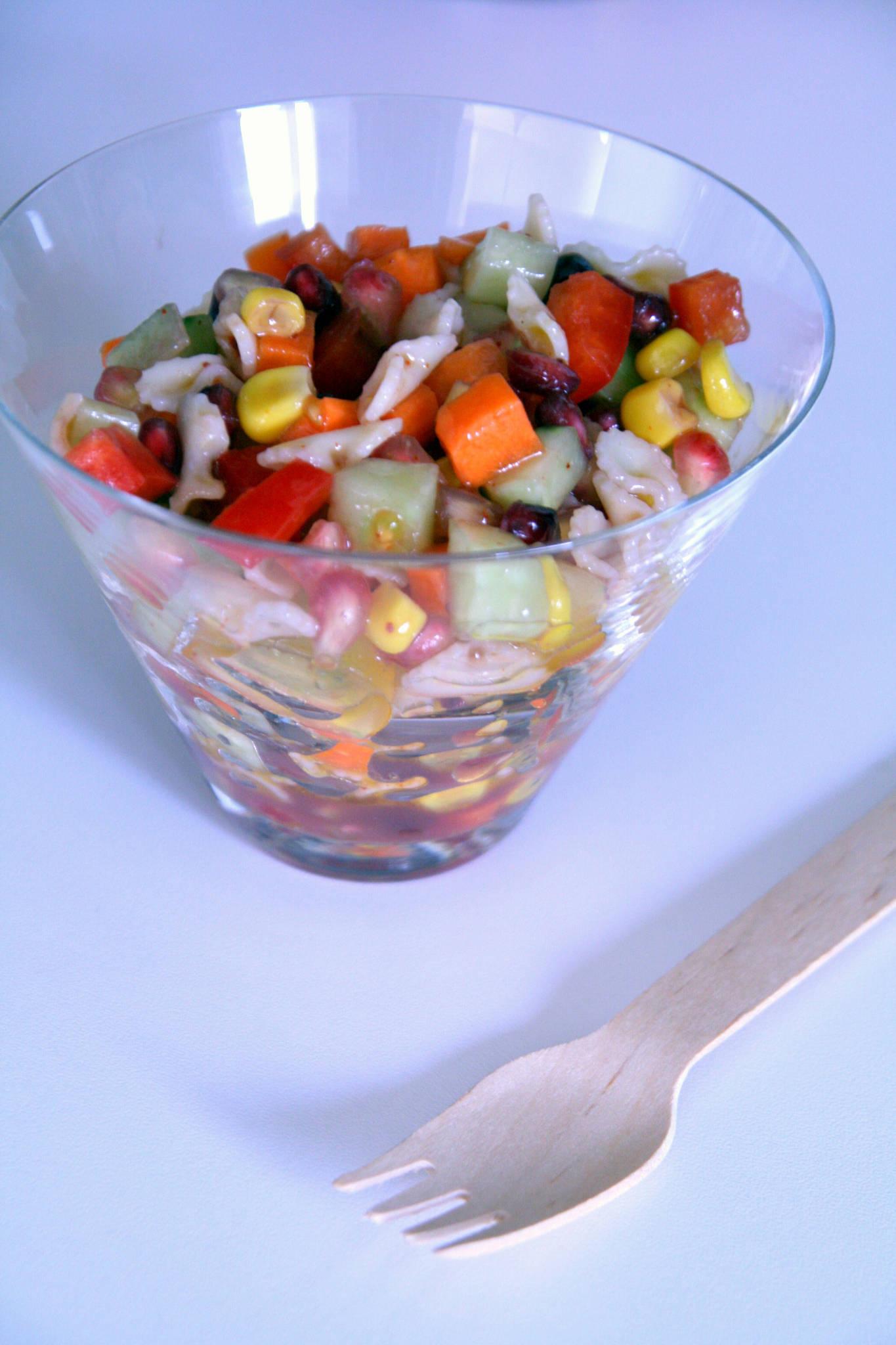 Salade de pâtes ultra-croquante