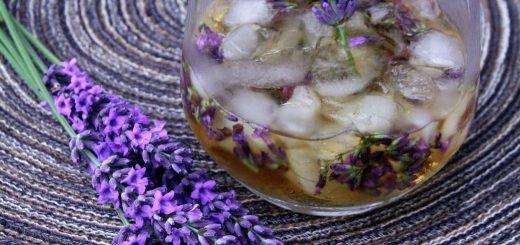 Cocktail au Calvados : le Lavender