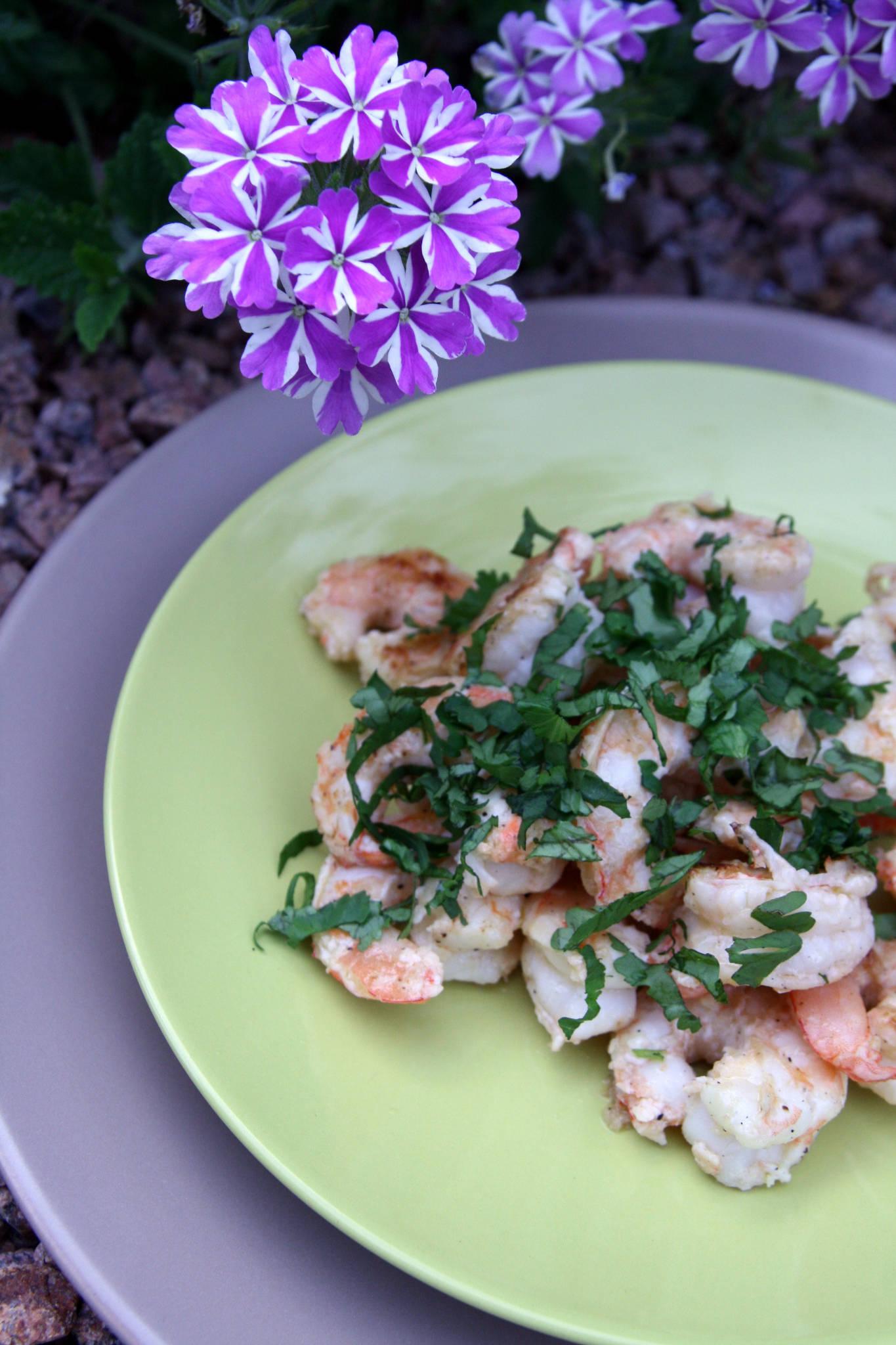 Gambas gingembre et citron vert, cuisson à la plancha