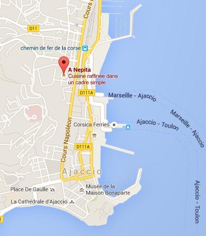 A Nepita à Ajaccio (2A)