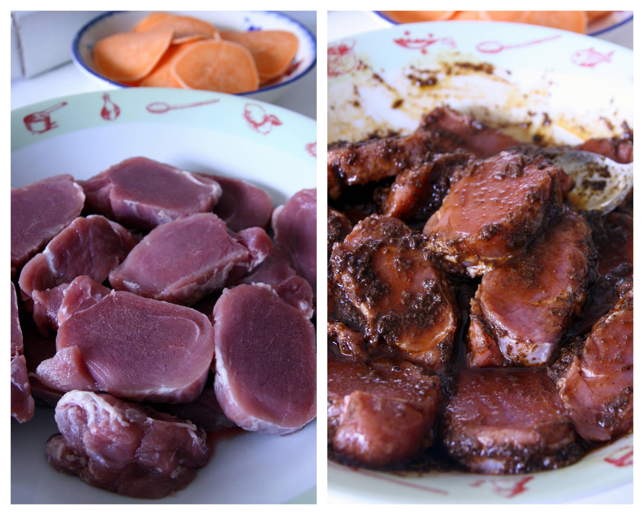 M daillons de filet mignon de porc gingembre cannelle au - Cuisine filet mignon de porc ...