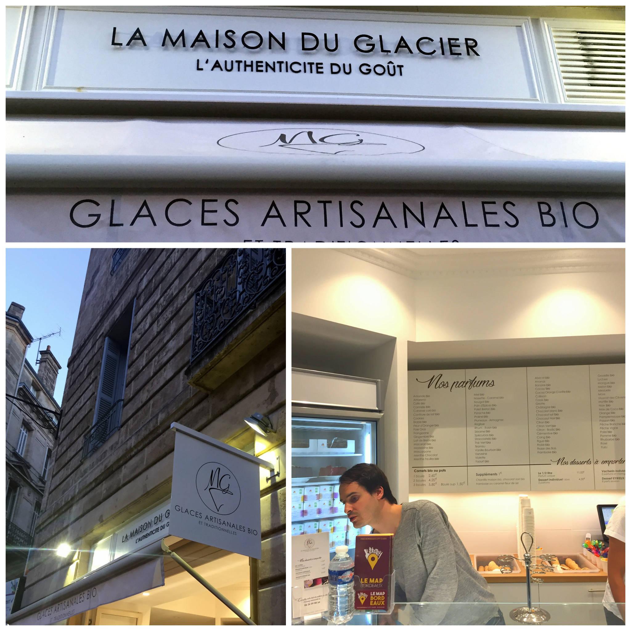 La Maison du Glacier à Bordeaux (33)