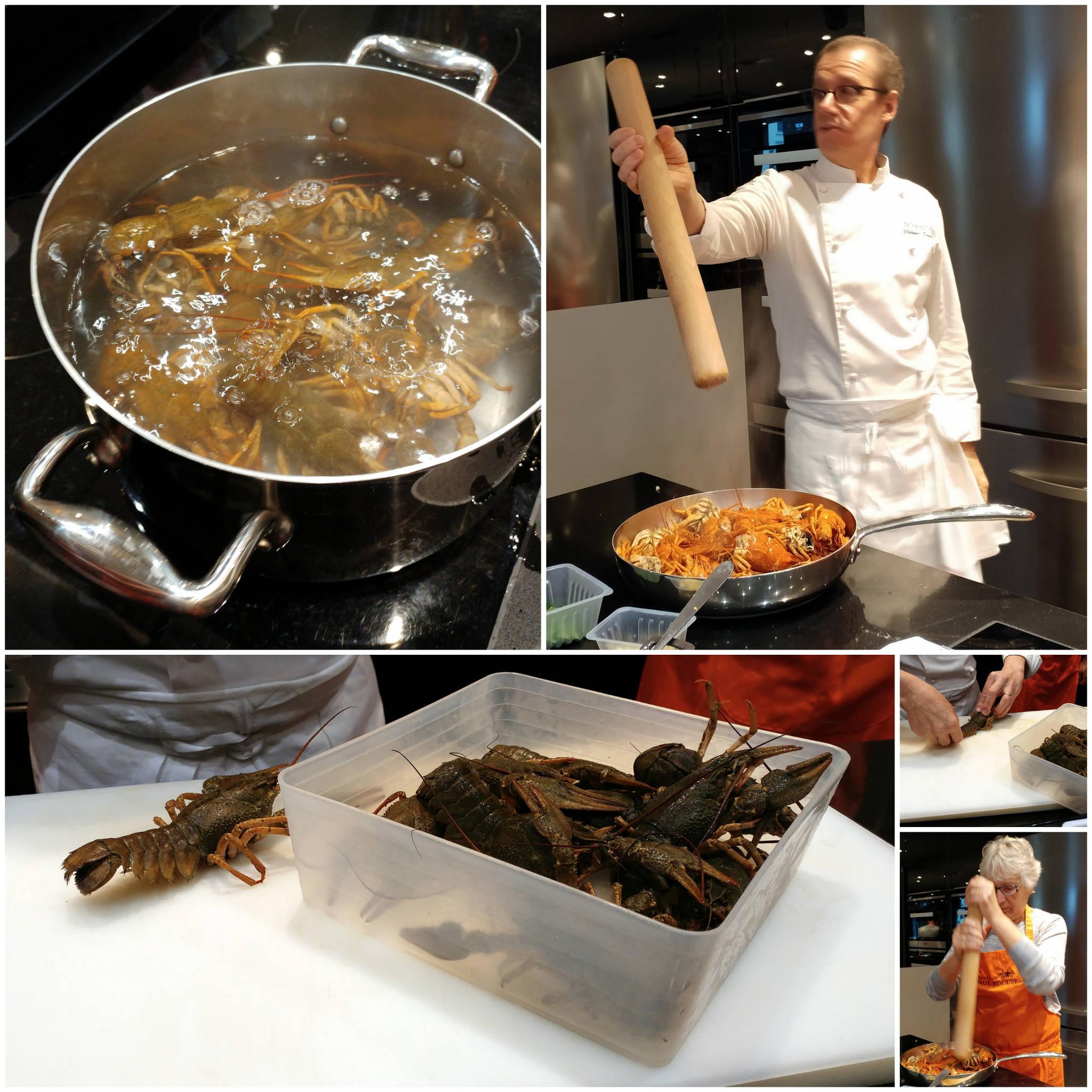 la cuisine des gones : cours de cuisine à l'institut paul bocuse à