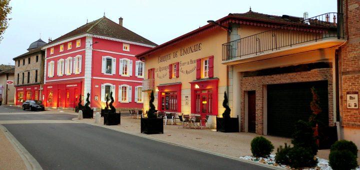 L'auberge Georges Blanc à Vonnas (01)