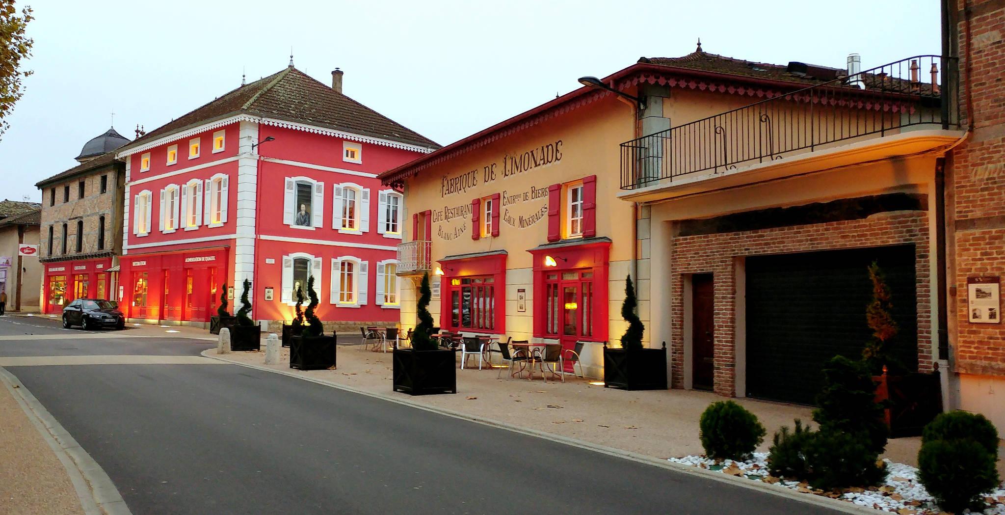 L'Ancienne Auberge Georges Blancà Vonnas (01) et quelques images du petit paradis de l'Ain # Hotel Du Bois Blanc Vonnas