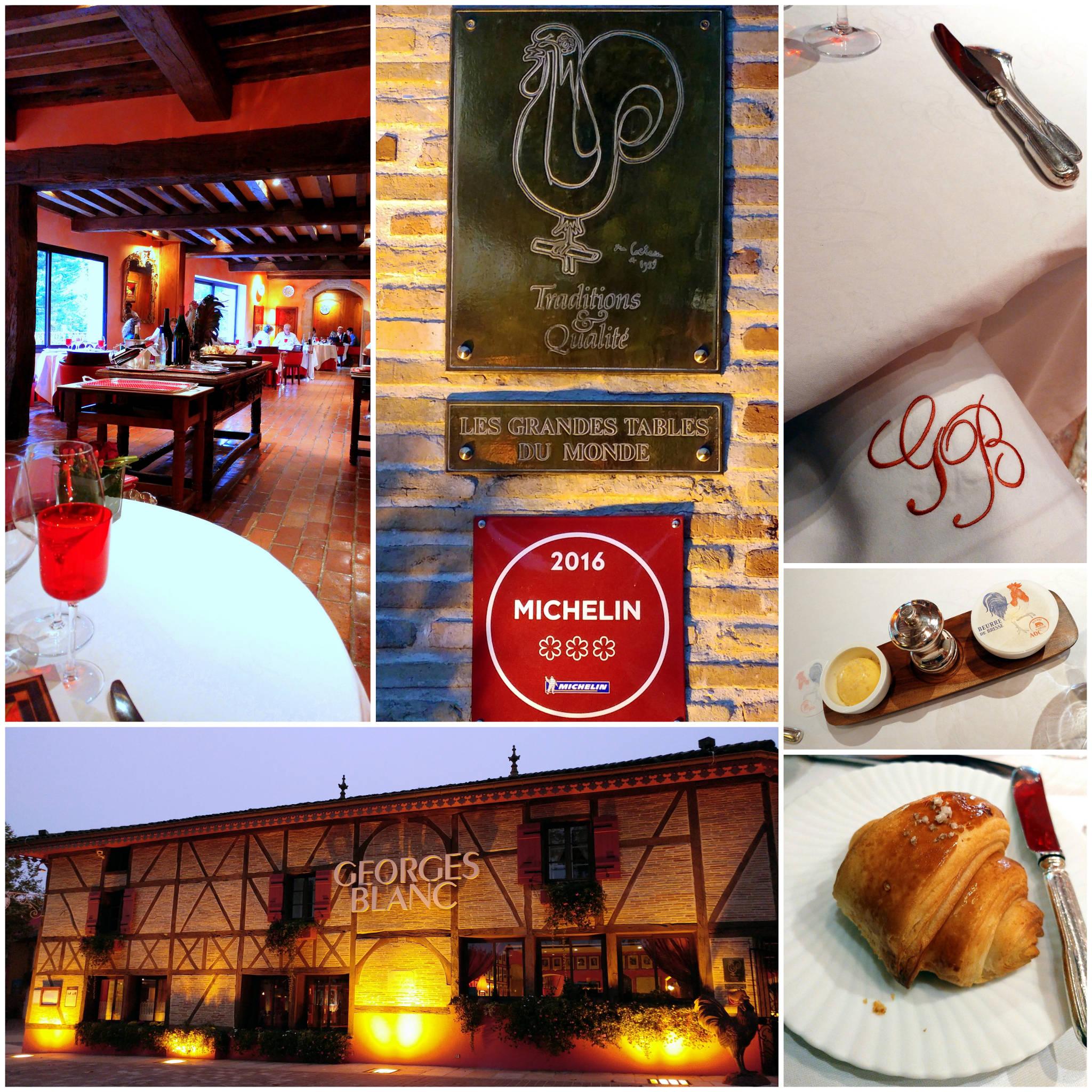 Restaurant Georges Blanc à Vonnas (01)