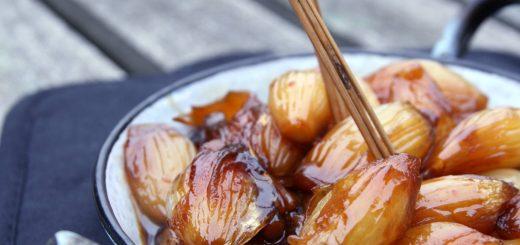Oignons grelots confits