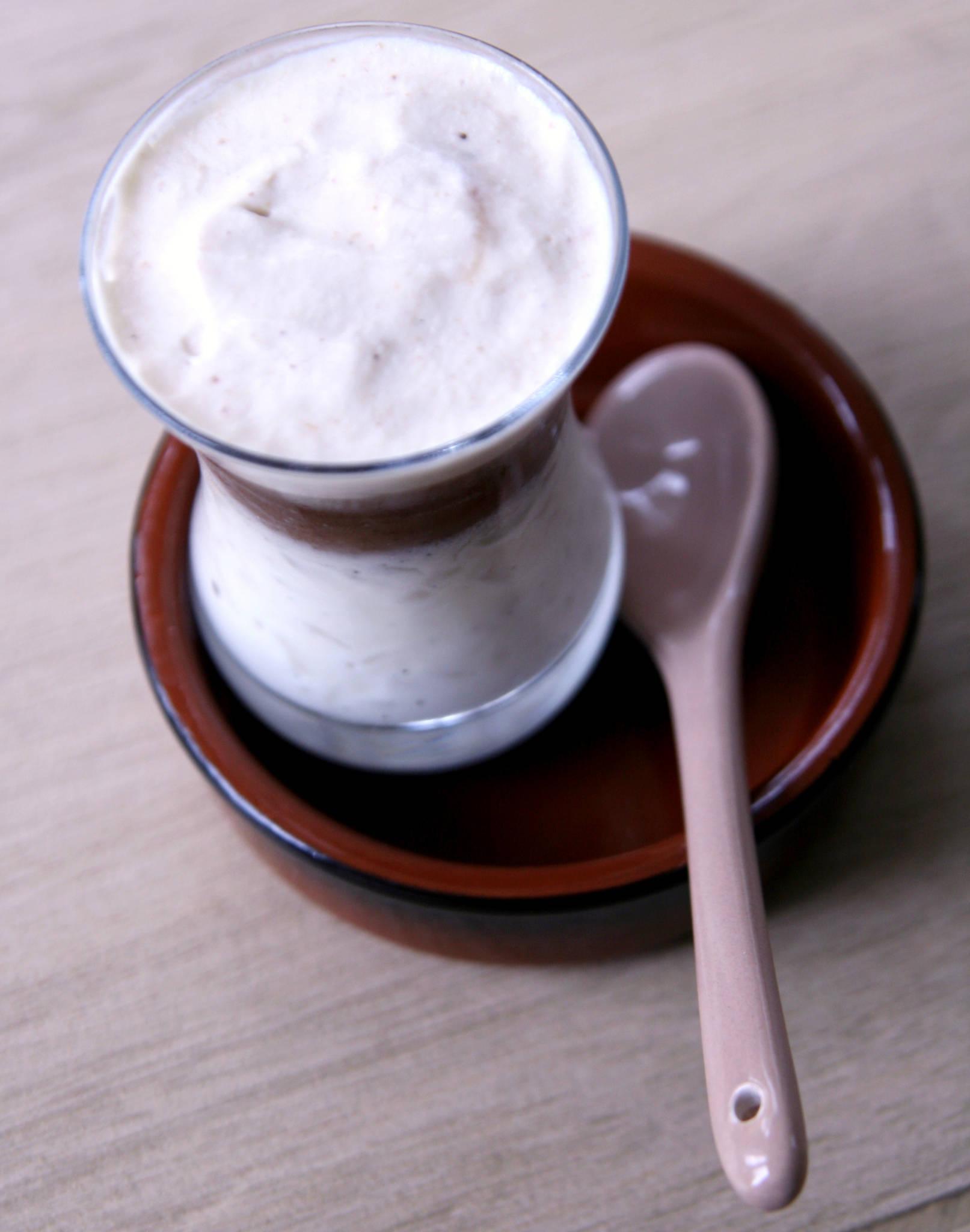 Riz au lait vanille et crème de marrons