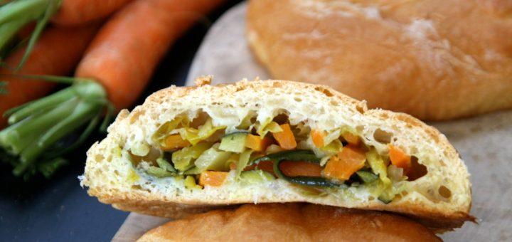 Buns végétariens à la truffe