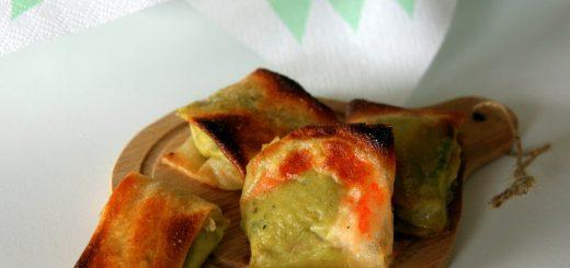 Brick crevette et guacamole