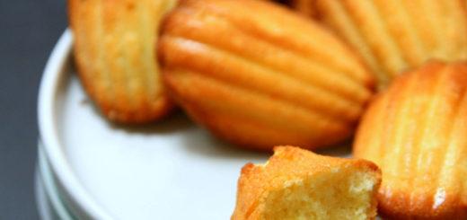 Madeleines à la mandarine