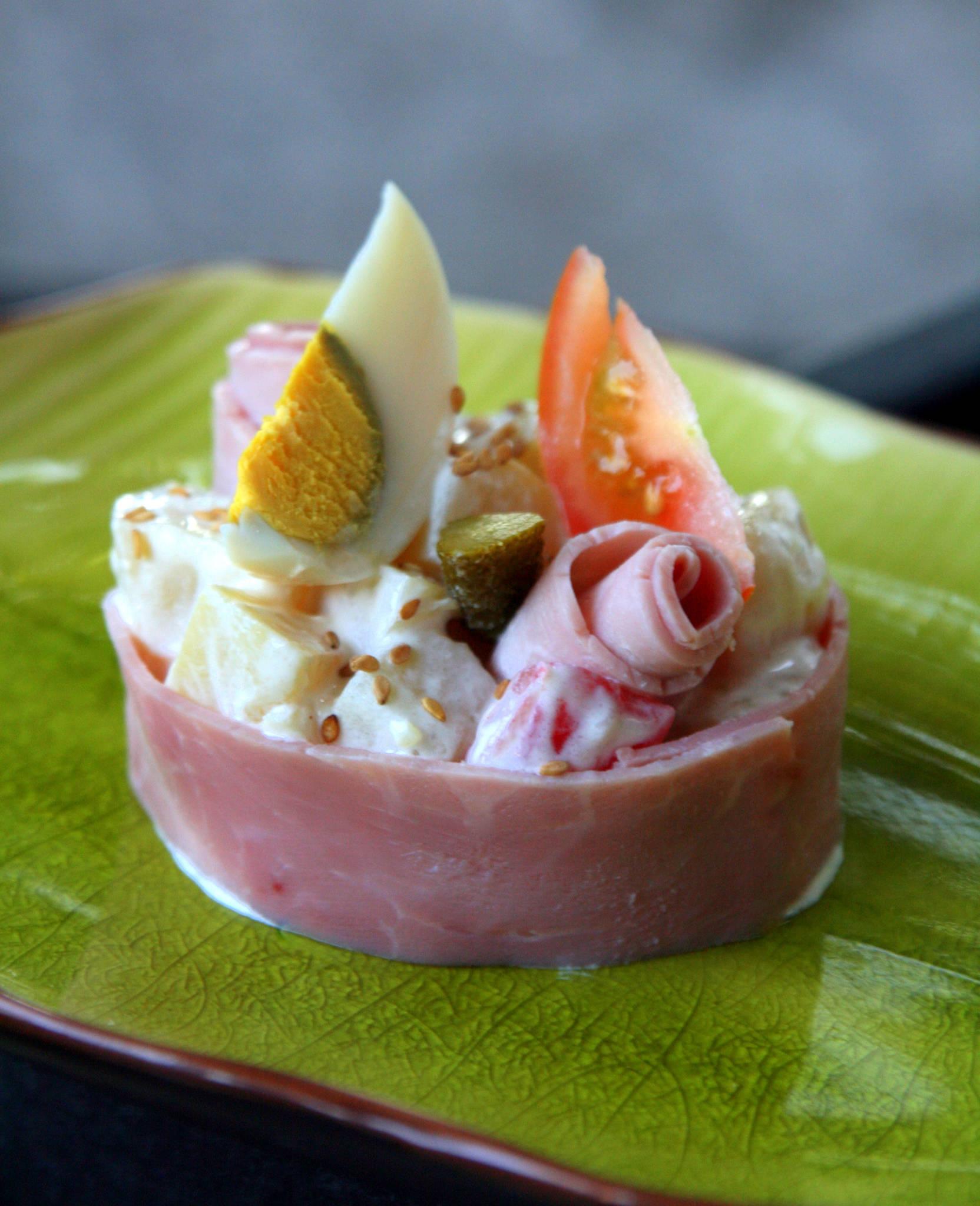 Salade légère comme une piémontaise