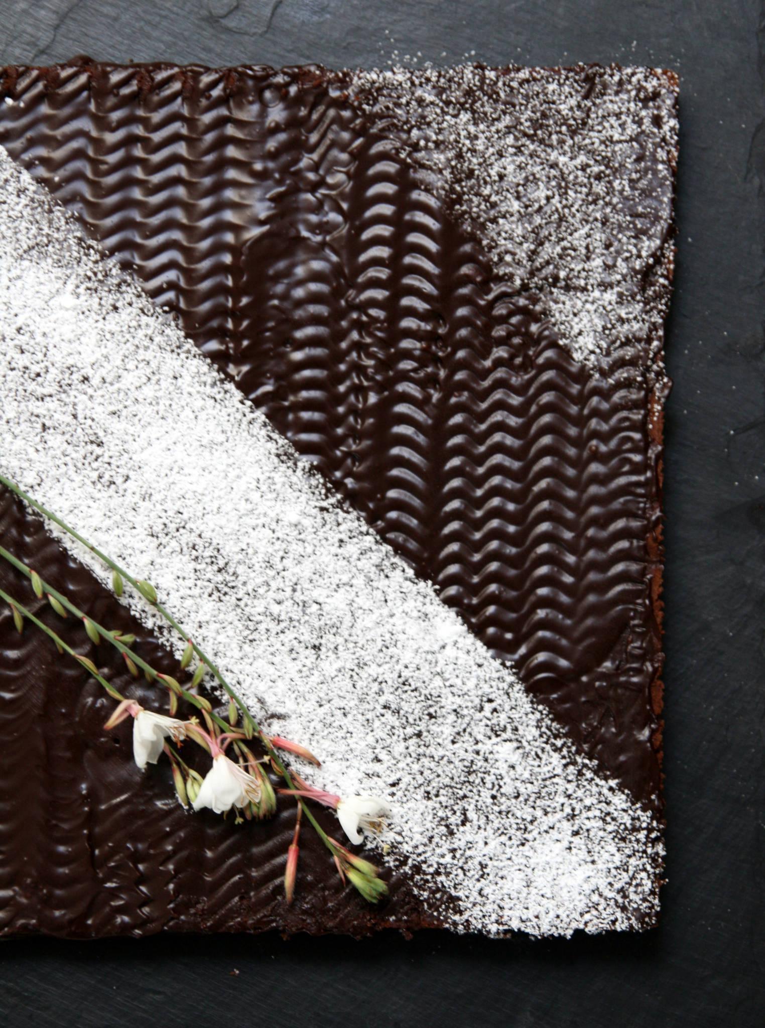 Gâteau au chocolat au mascarpone de Cyril Lignac