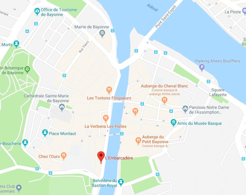 L'Embarcadère à Bayonne (64)