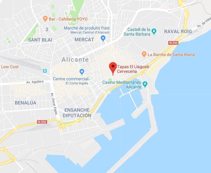 El llagosti à Alicante (Espagne)
