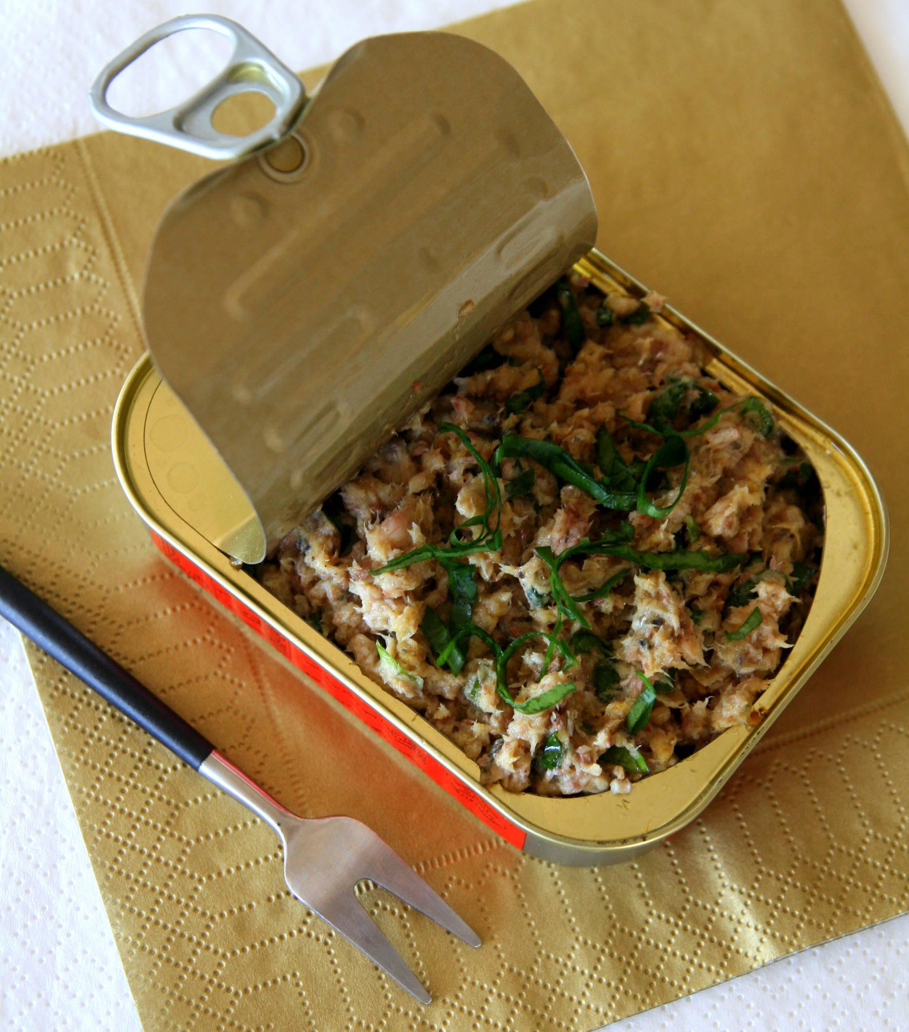 Sardines au curry et à l'ail des ours