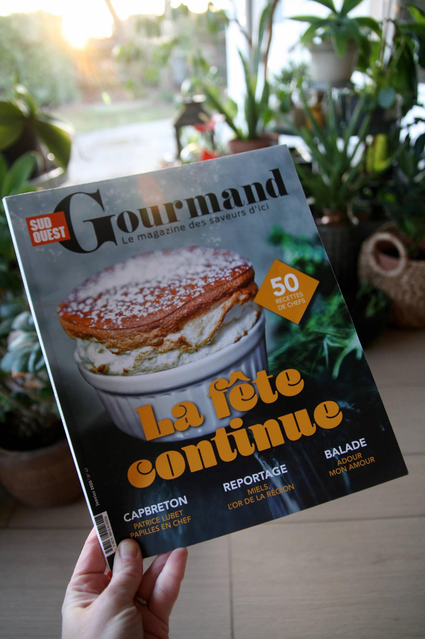 Parution Sud-Ouest Gourmand n°47