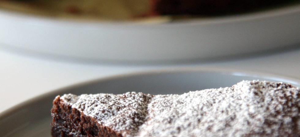 Fondant au cacao en poudre