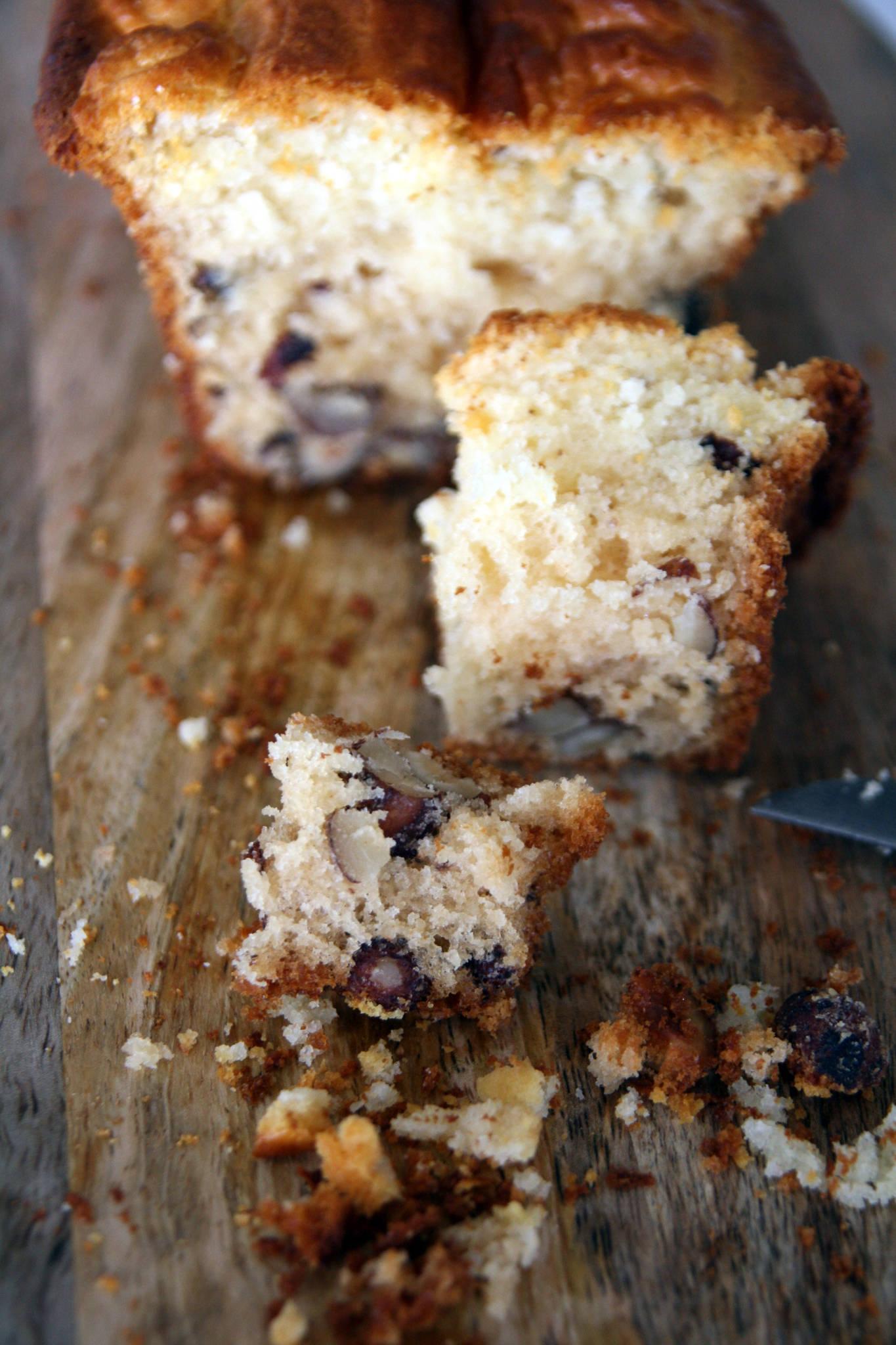Gâteau ultra-léger aux noisettes et au miel