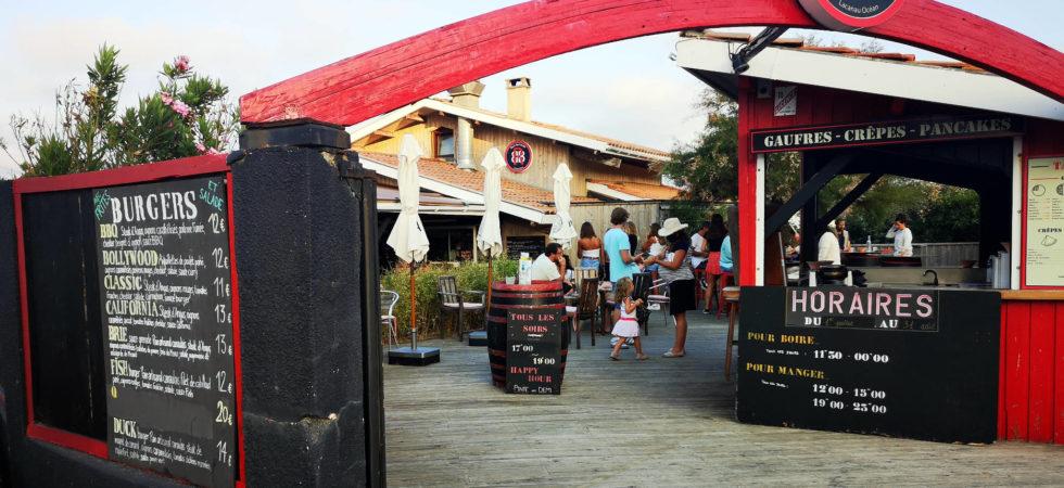 Beach Rock Burger à Lacanau (33)