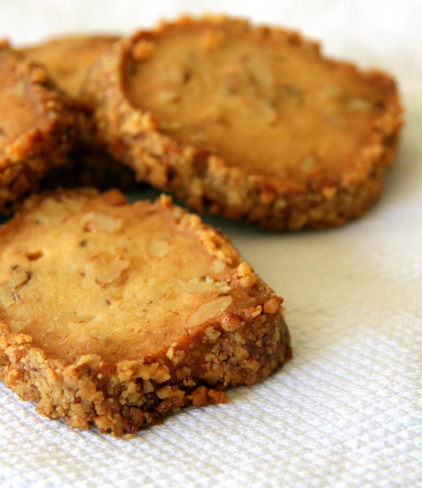 Biscuits au fromage frais et aux noix