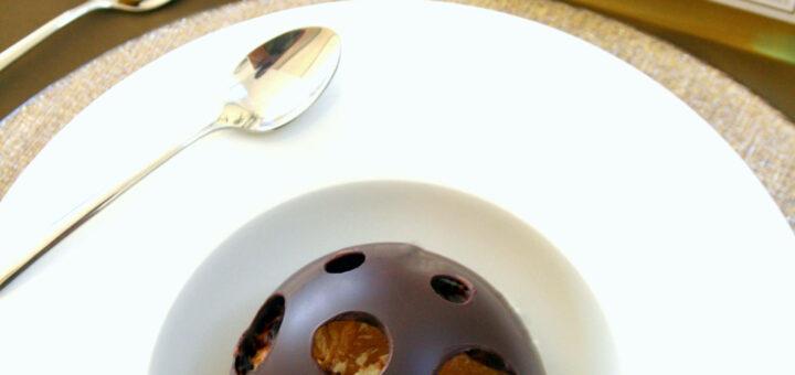 Boule de chocolat noir à la mandarine, Lions de La Louvière 2015