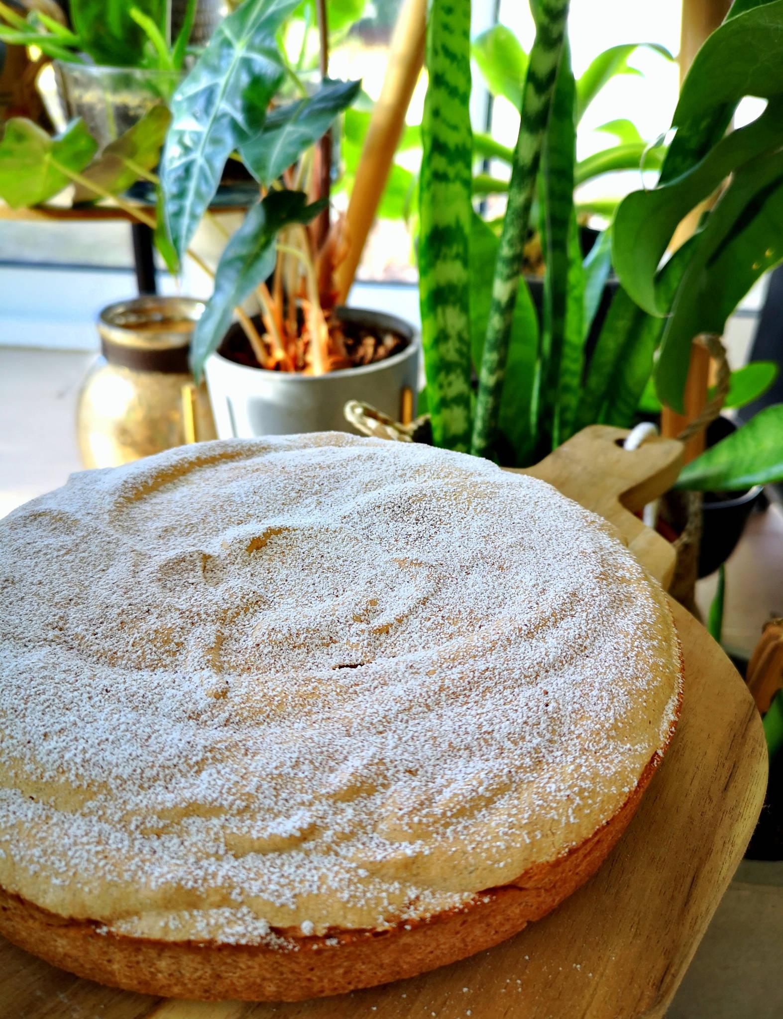 Angel cake à la cannelle