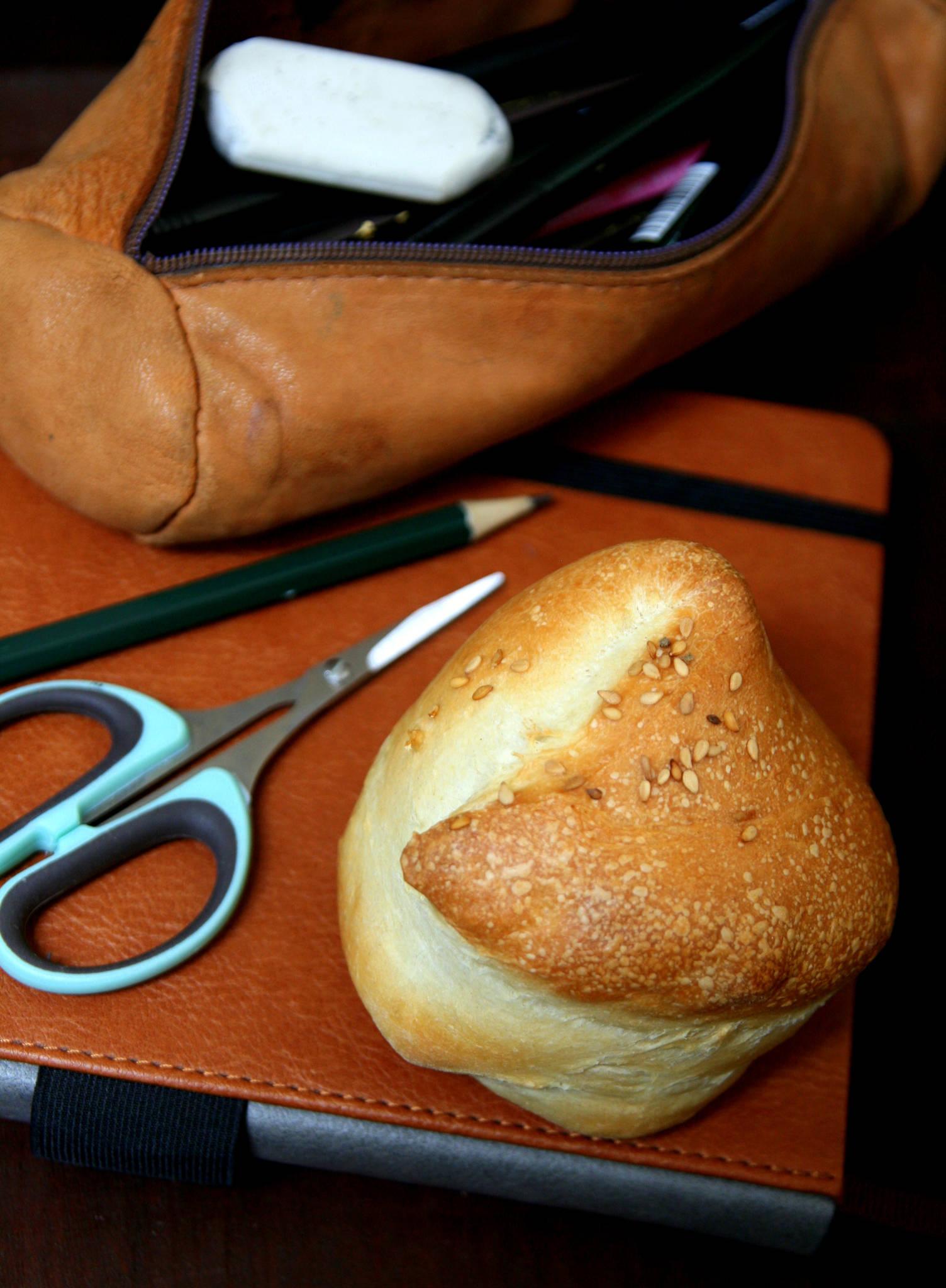 Petits pains au lait roulés
