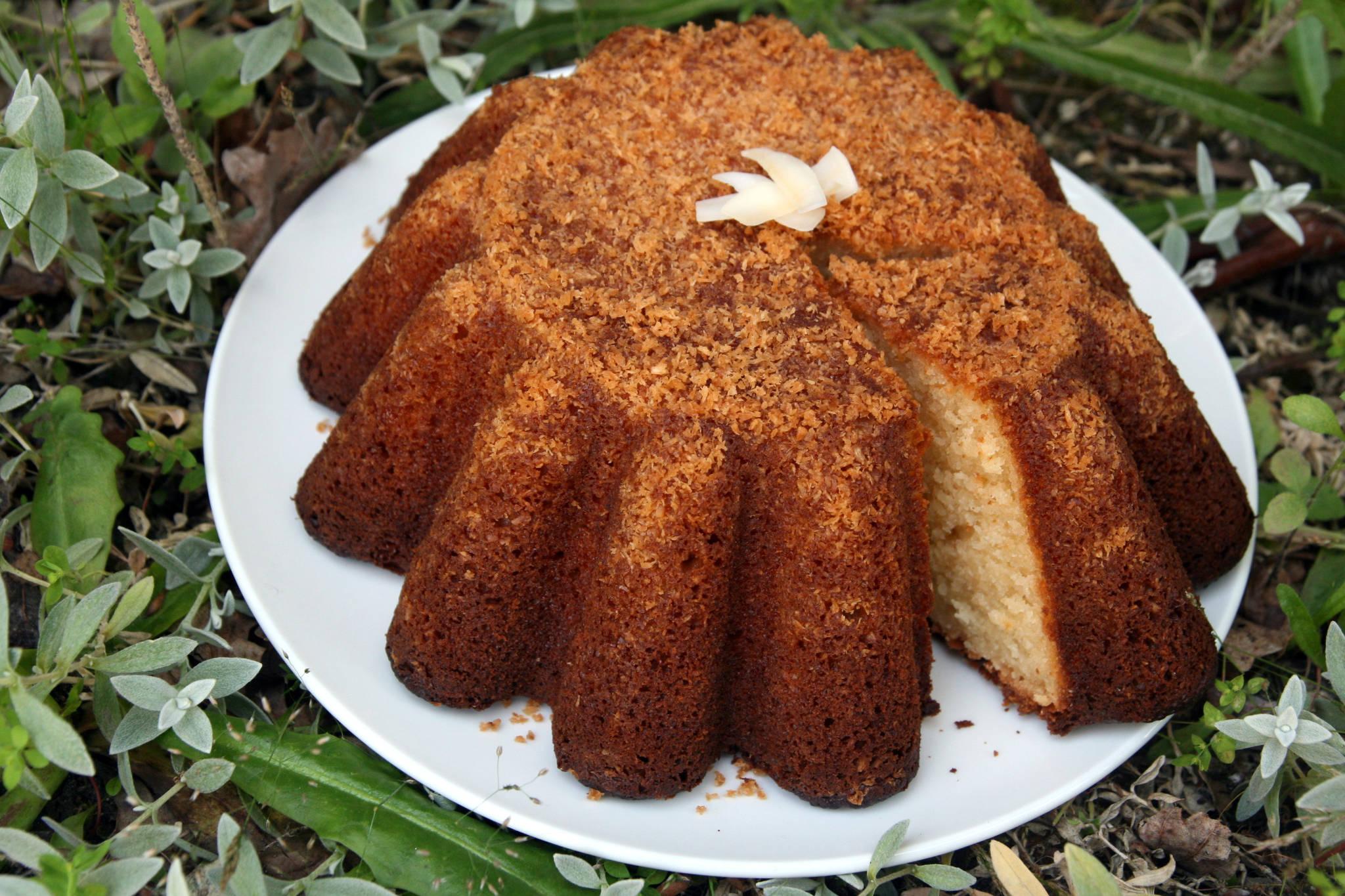 Gâteau au yaourt à la crème de coco sucrée